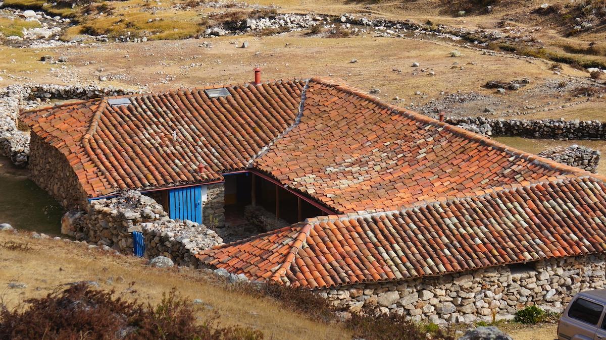 High Andes Piedras Blancas Refuge