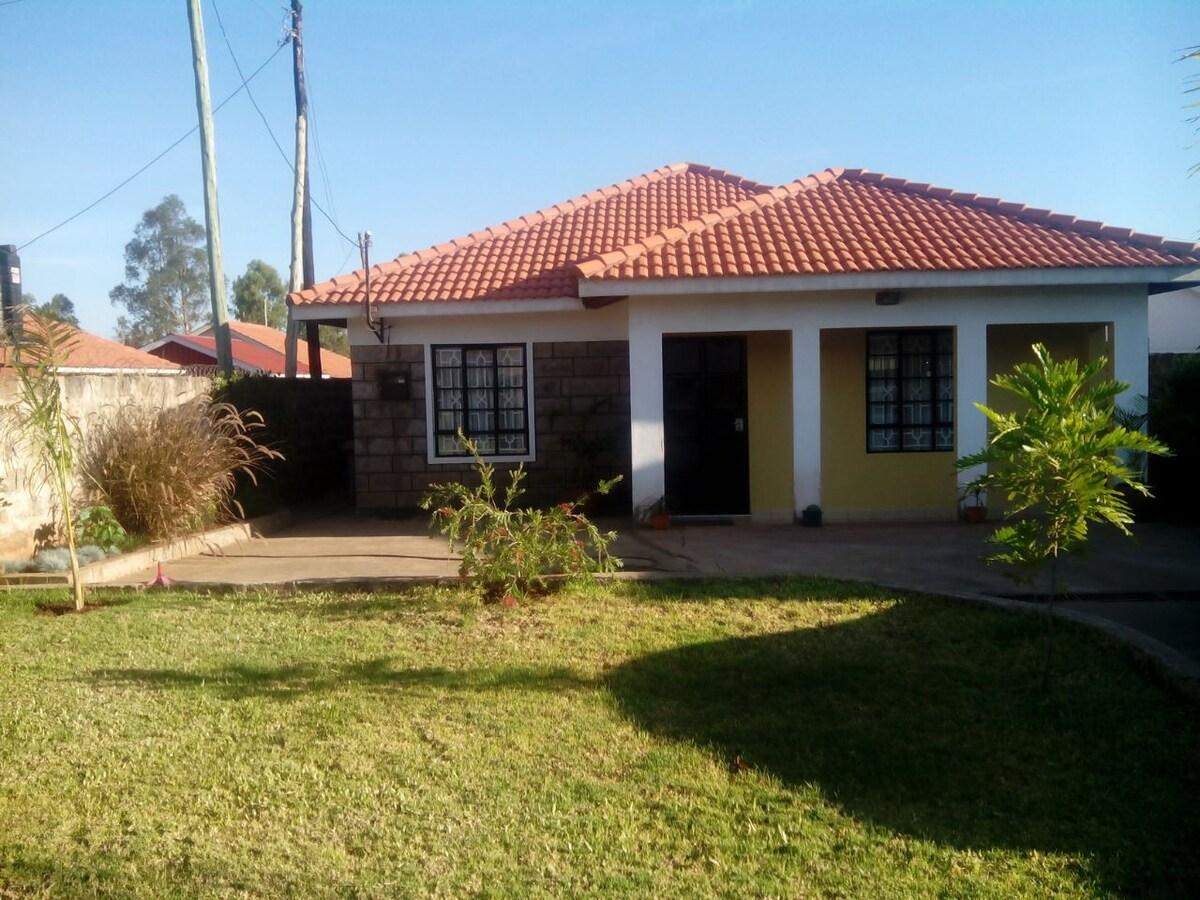 Cozy house in surburbs of Nairobi