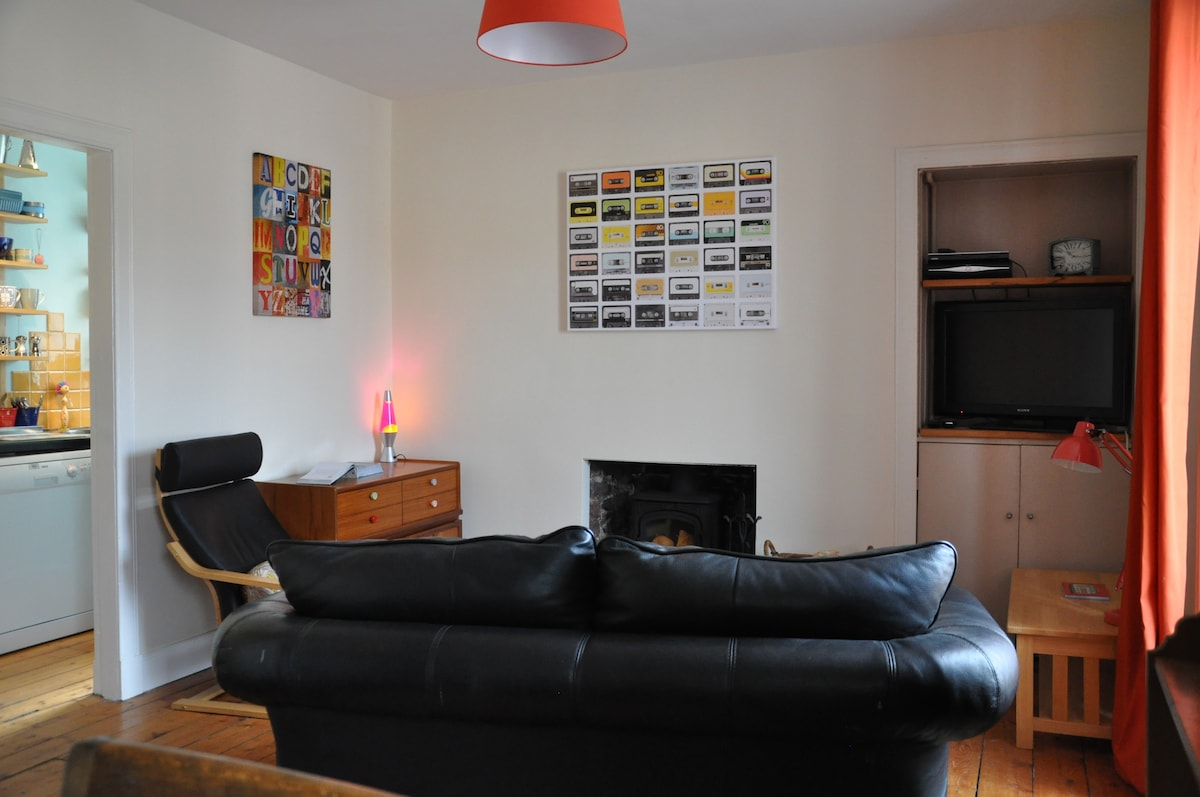 Quirky and Spacious Flat