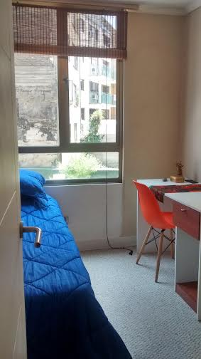Cozy single room in Lastarria