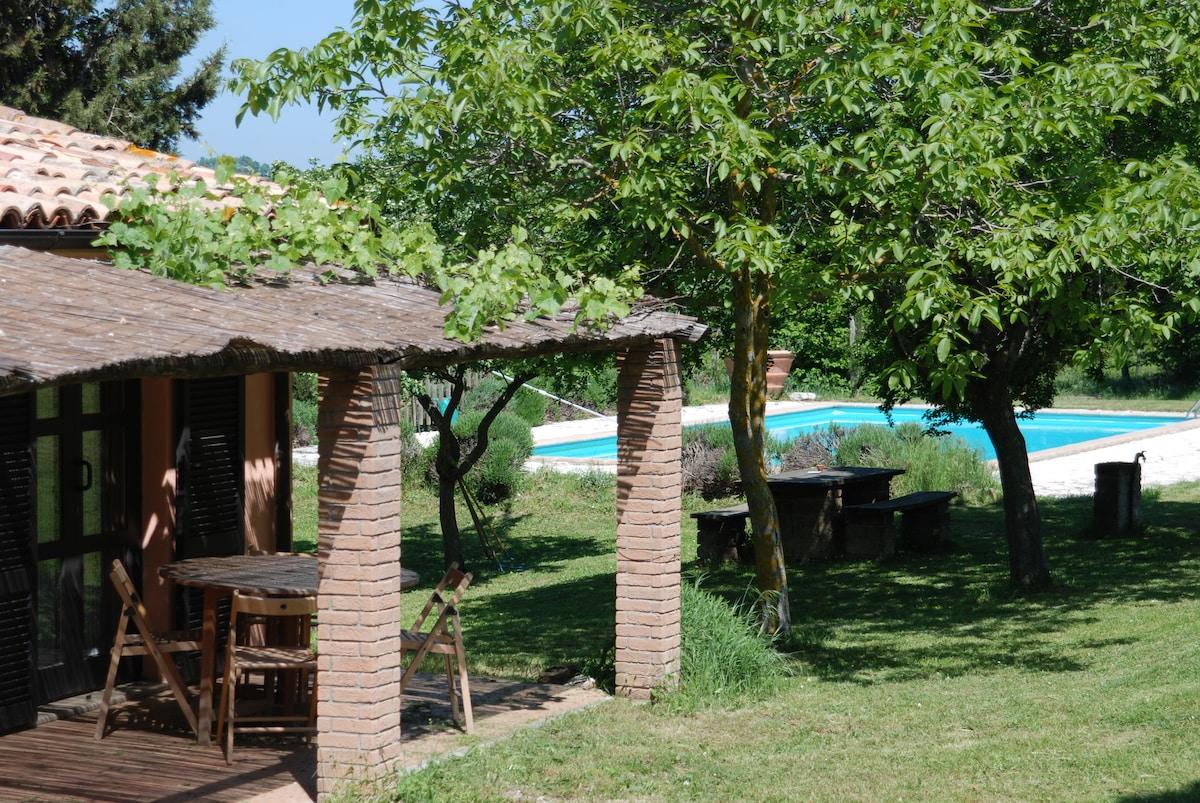 Agriturismo Umbria pool & tennis