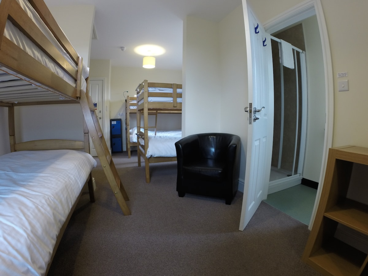Cycle friendly, family run hostel