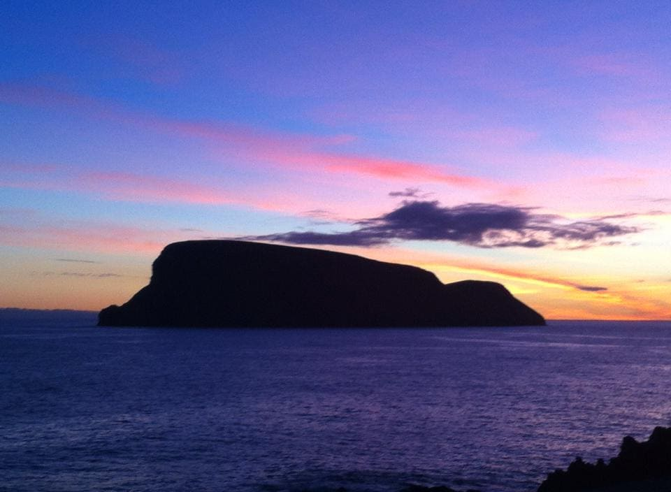 Acores ilha terceira, junto ao mar