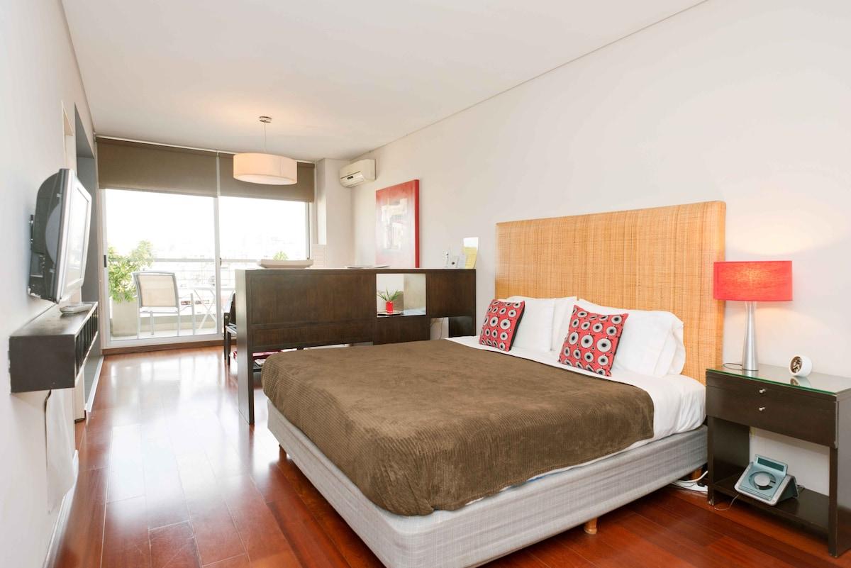 ROJO studio apartment in Recoleta