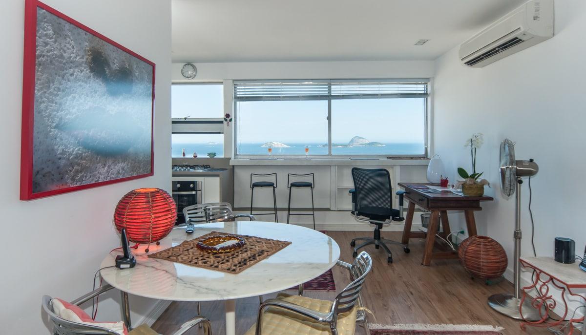 1 BD Leblon flat with stunning view