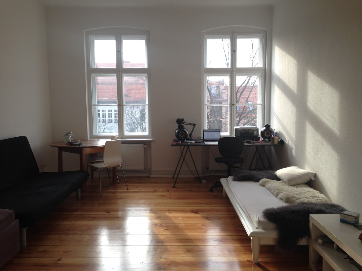 Central, sunny and quiet apartment