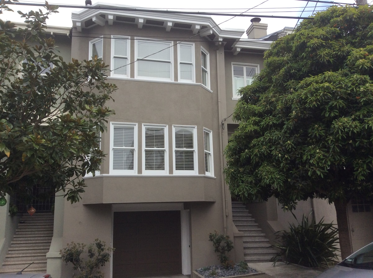 Classic, Quiet, Central SF Home
