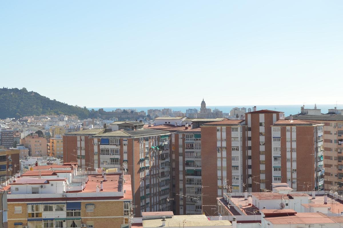 Apartamento cerca centro de Málaga