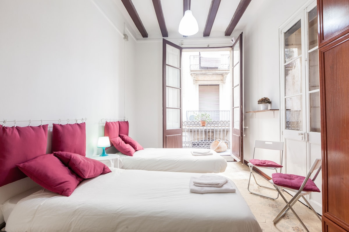 nice centric flat with balcony