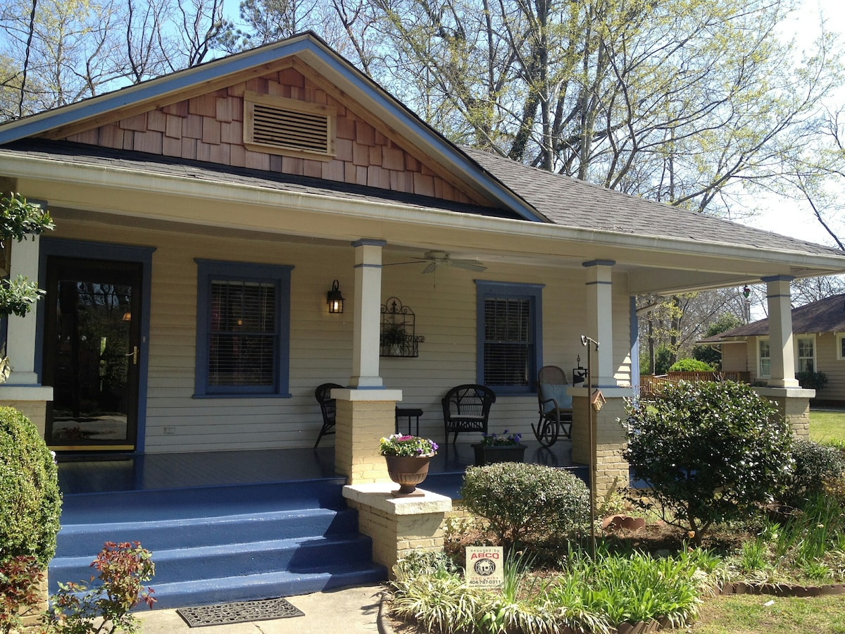 Cute Bungalow near downtown/airport