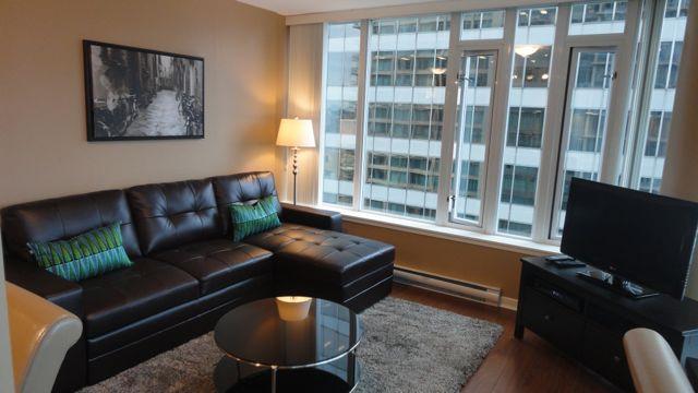 Living Room floor to ceiling windows