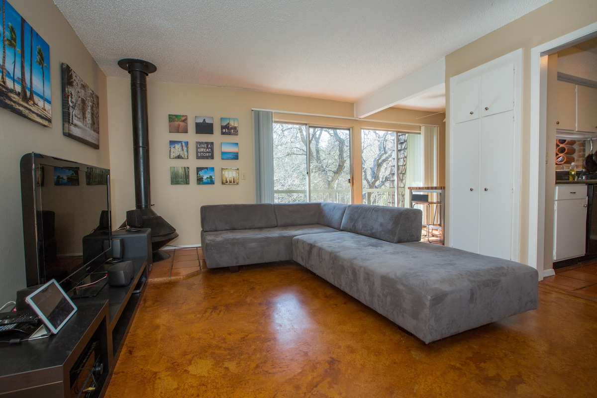 Modern, cozy 1bd/1ba Downtown!