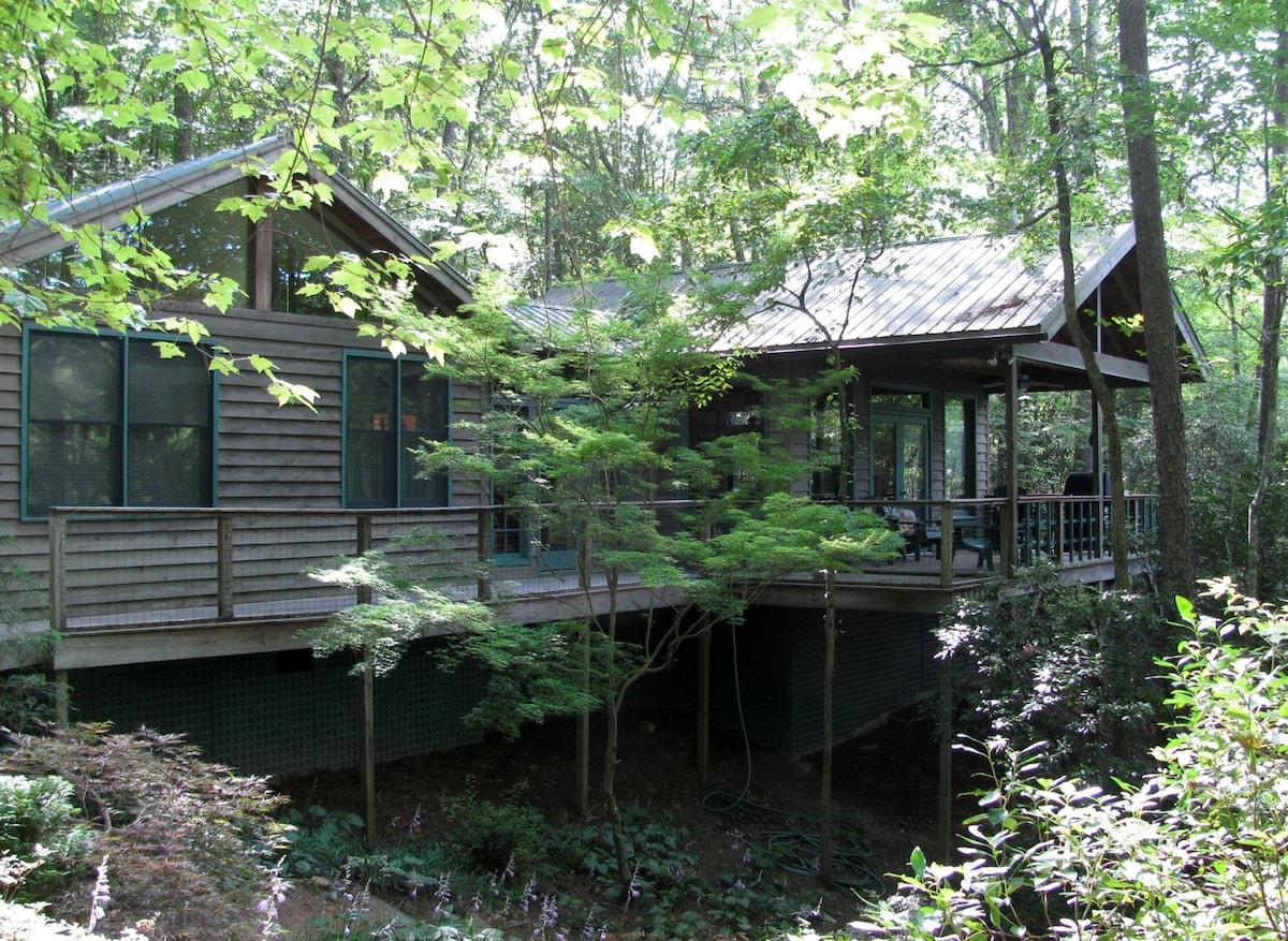 Lake Front Cottage/Floating Dock