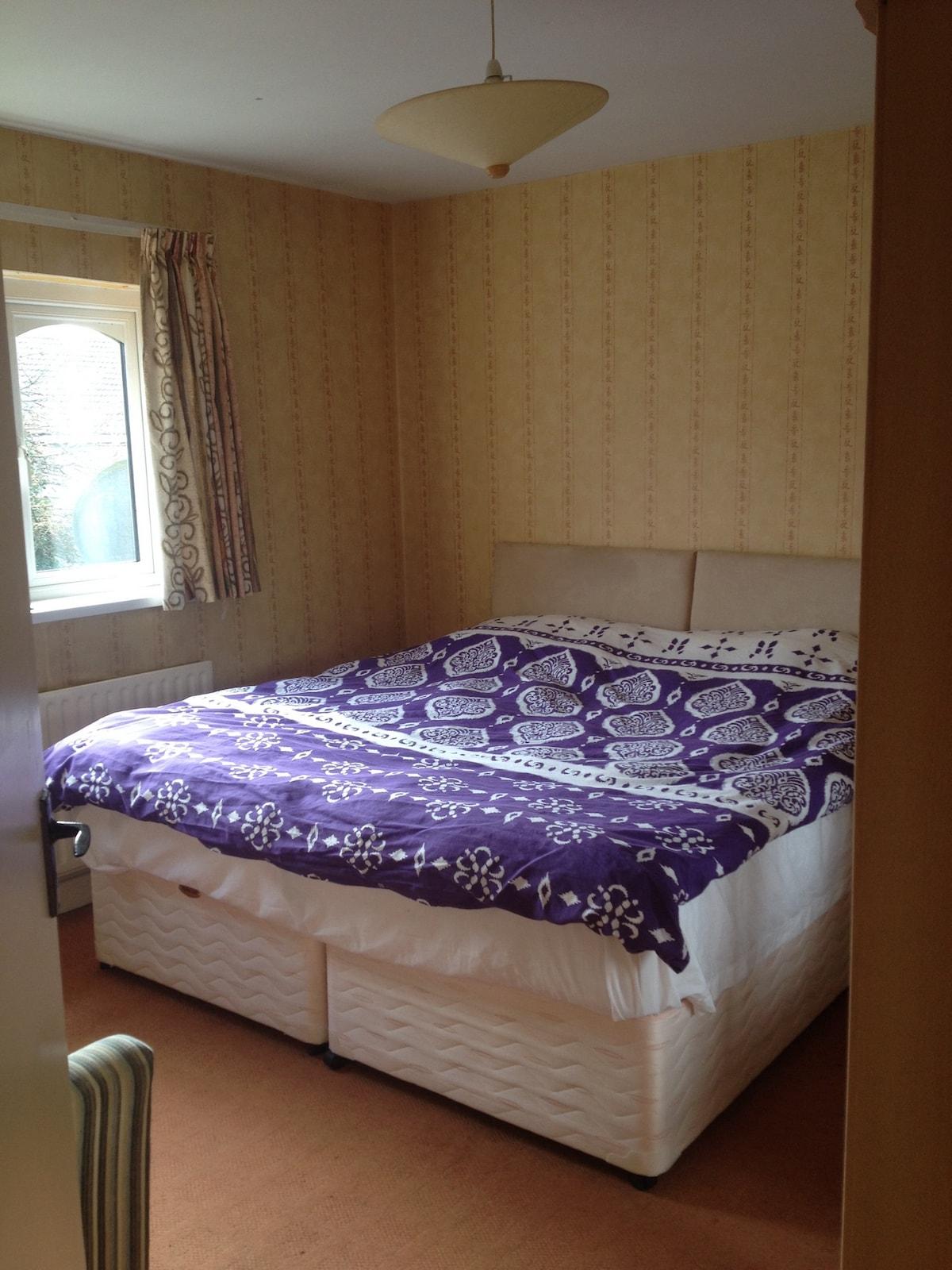Double/twin room in seaside estate