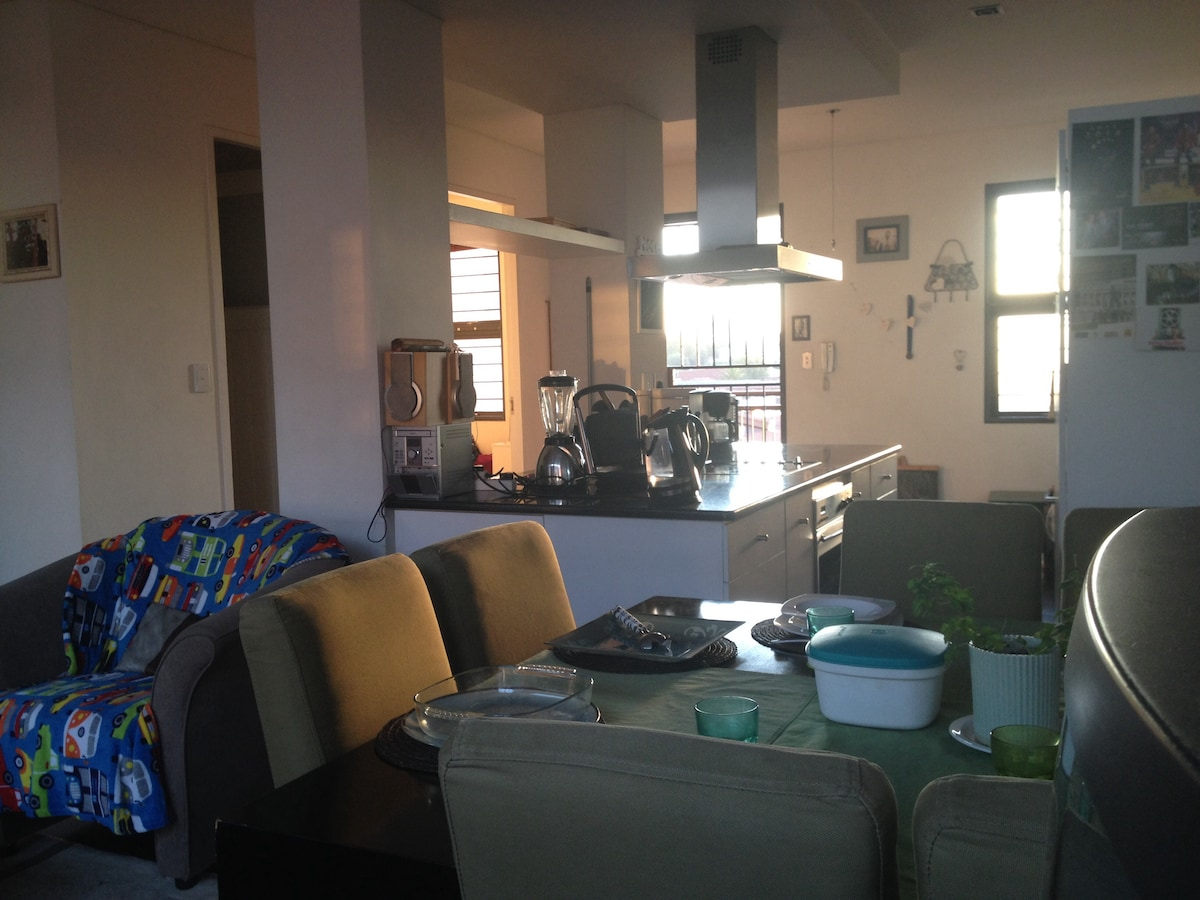 Spacious homely apartment in Newtow