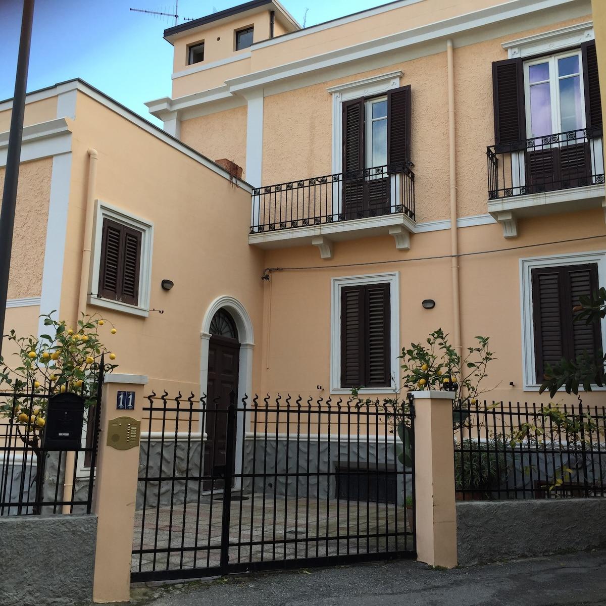 La casa coi limoni a Reggio