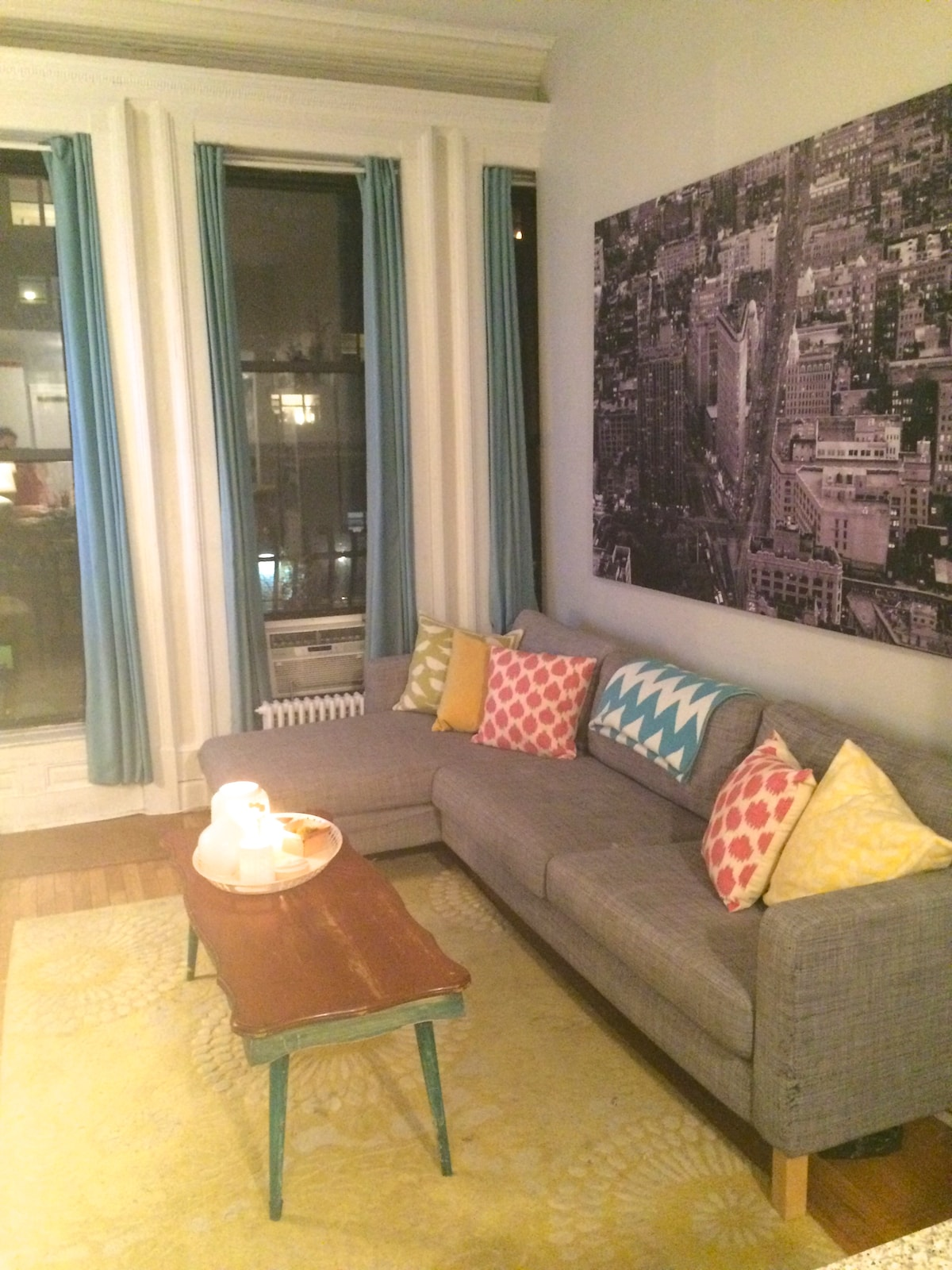 One bedroom Upper West Side escape