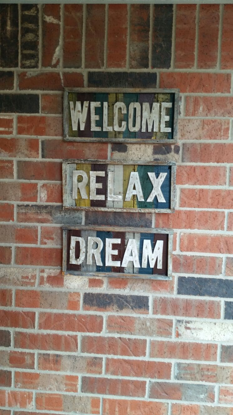 Welcome, Relax, Dream