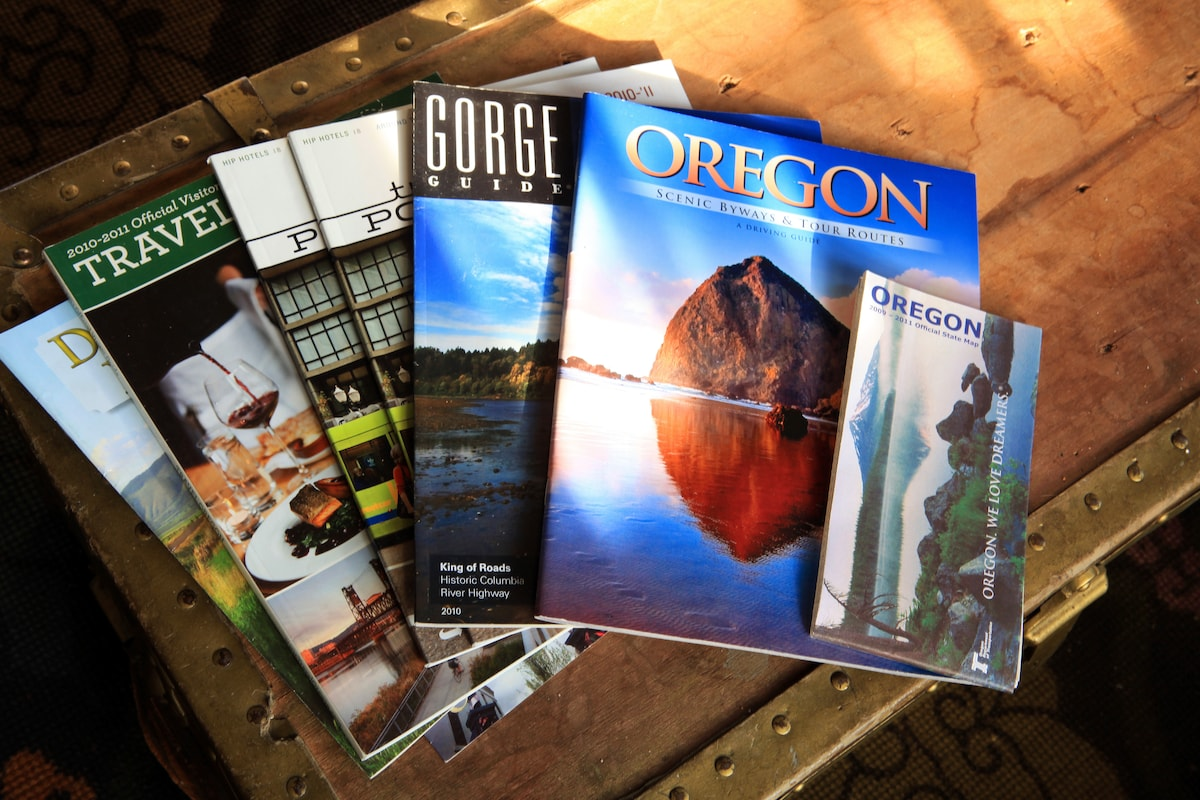 Gudies, maps, Oregon info