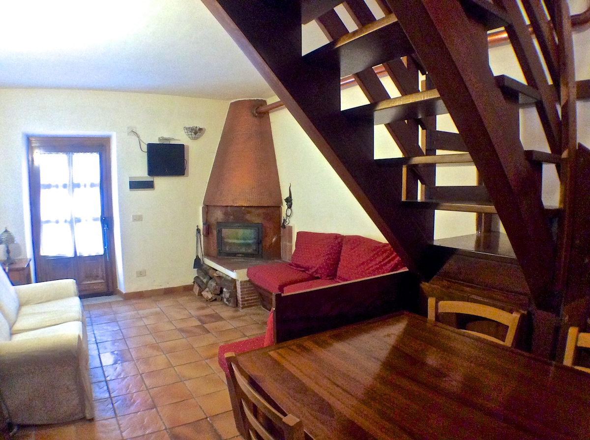 Cosy lodge in heart of Appenines