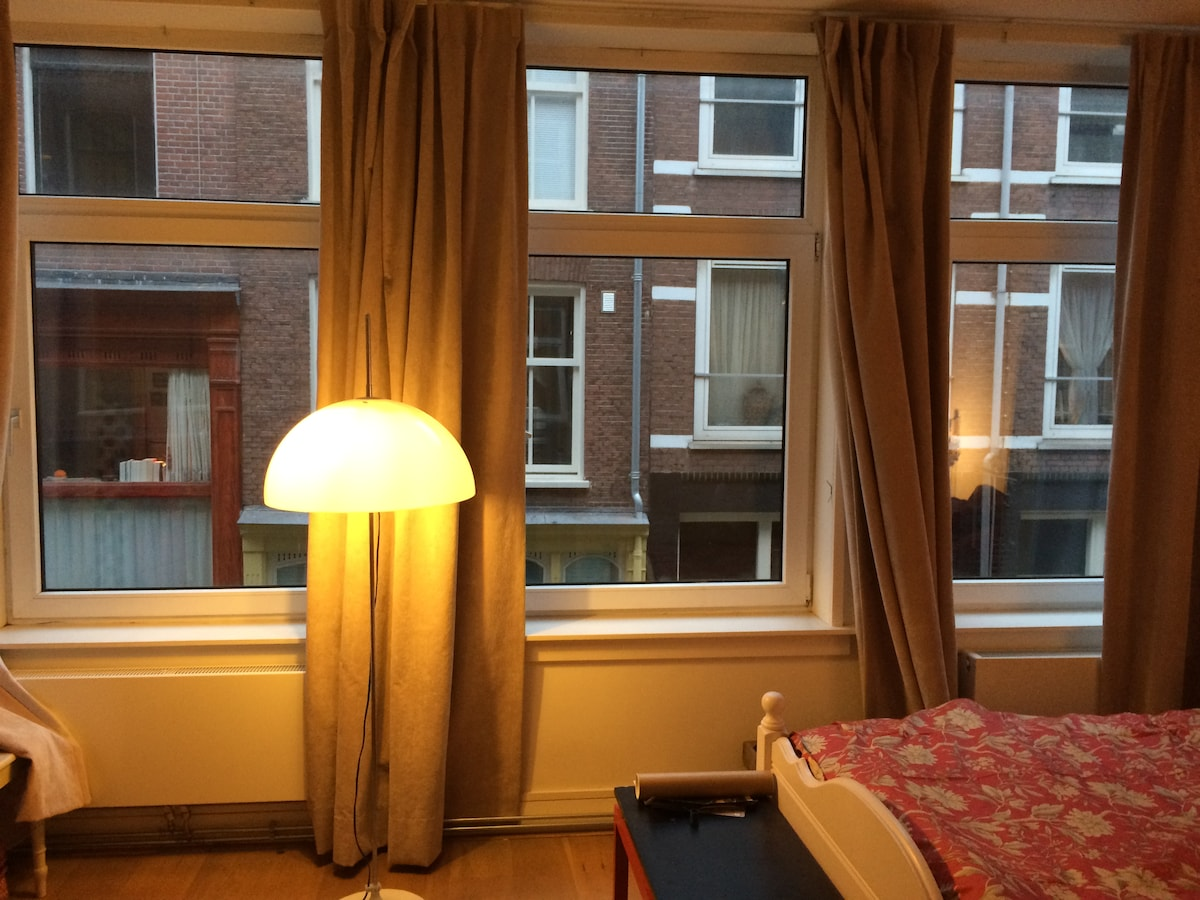 Sleeping in the heart of Amsterdam