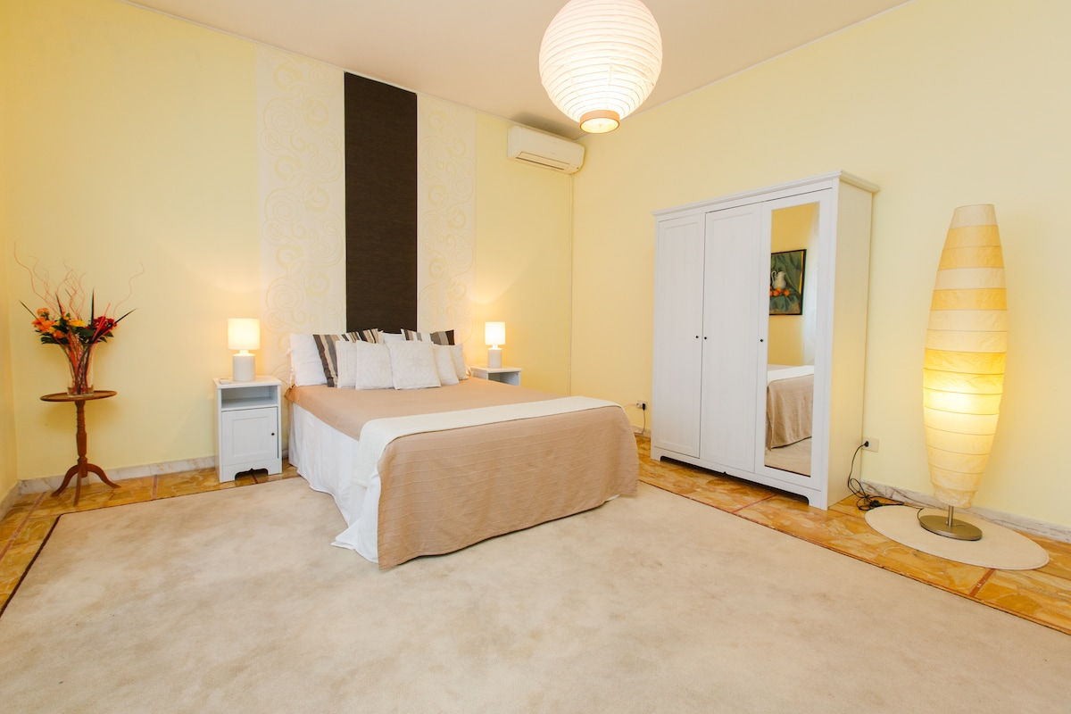 Very comfy bedroom which can host up to 3 people