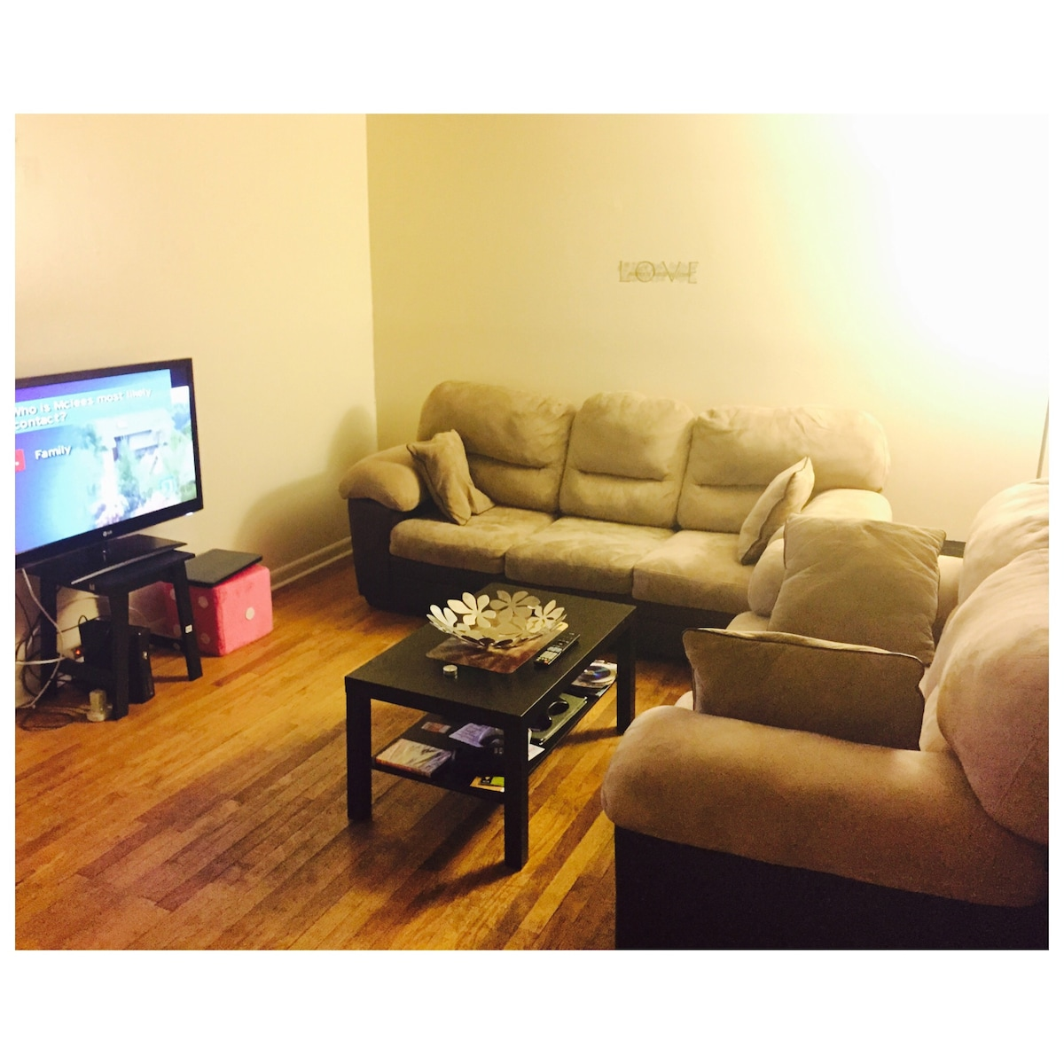 Large 1 bd in cozy apt 5 min to Nyc