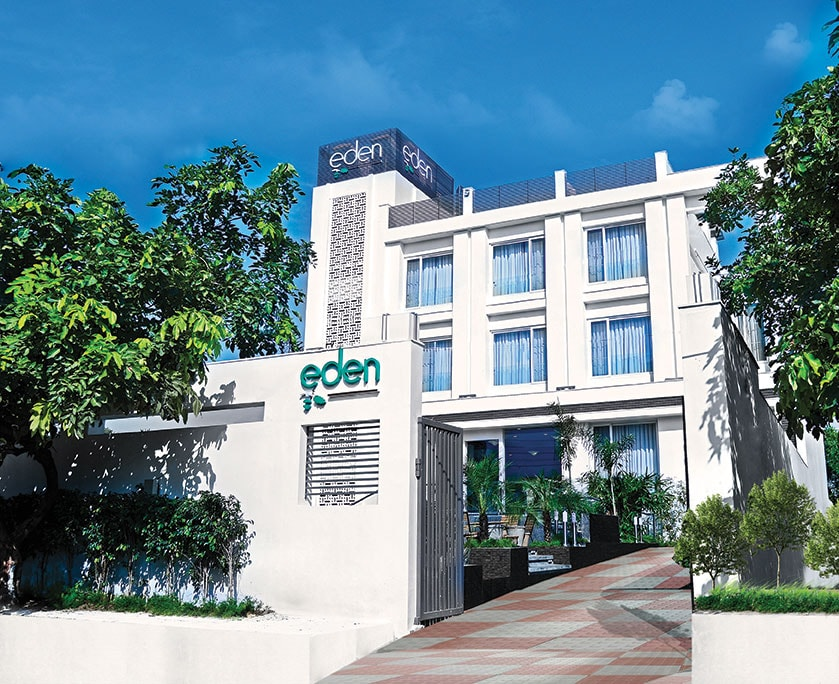 Eden Residency - A Boutique Hotel