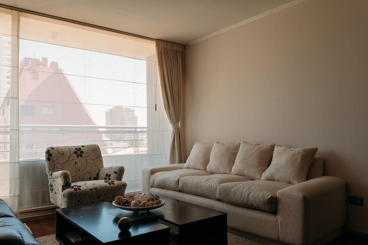 Confortable habitación en el centro