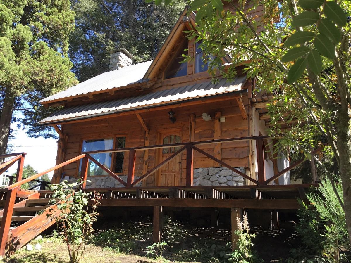 El Aleph, a cozy wood cabin
