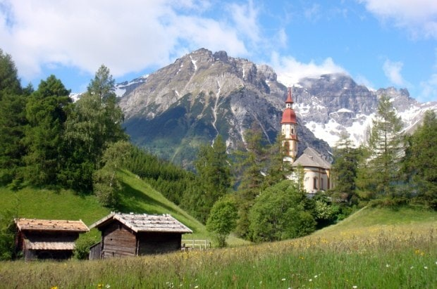 Wohnen in idyllischer Landschaft