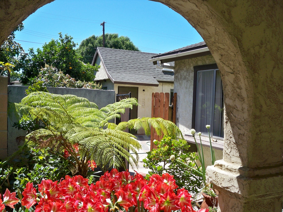 cottage behind securable gate