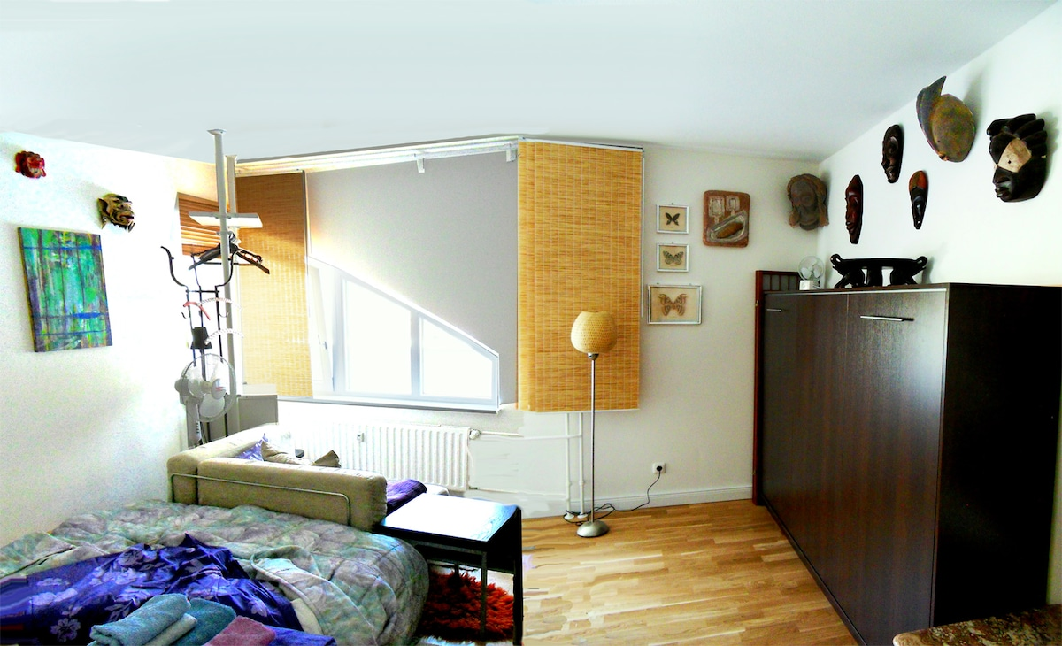 One of our new carefully designed sleeping rooms