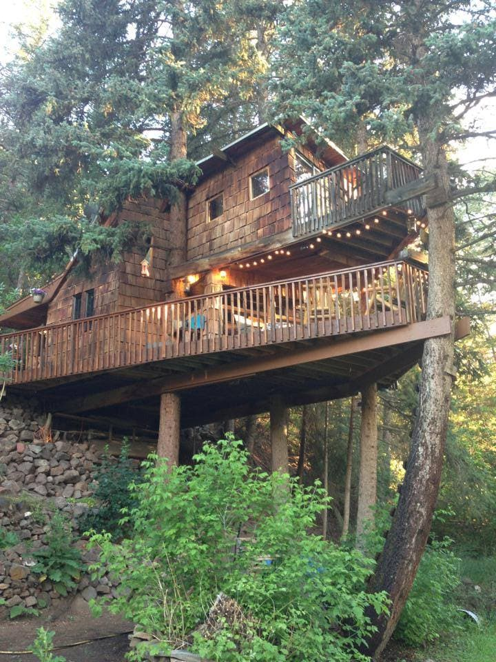 Rocky Mountain Treehouse