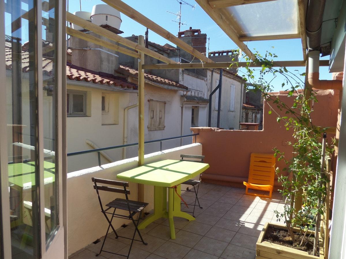Studio in Perpignan, very central