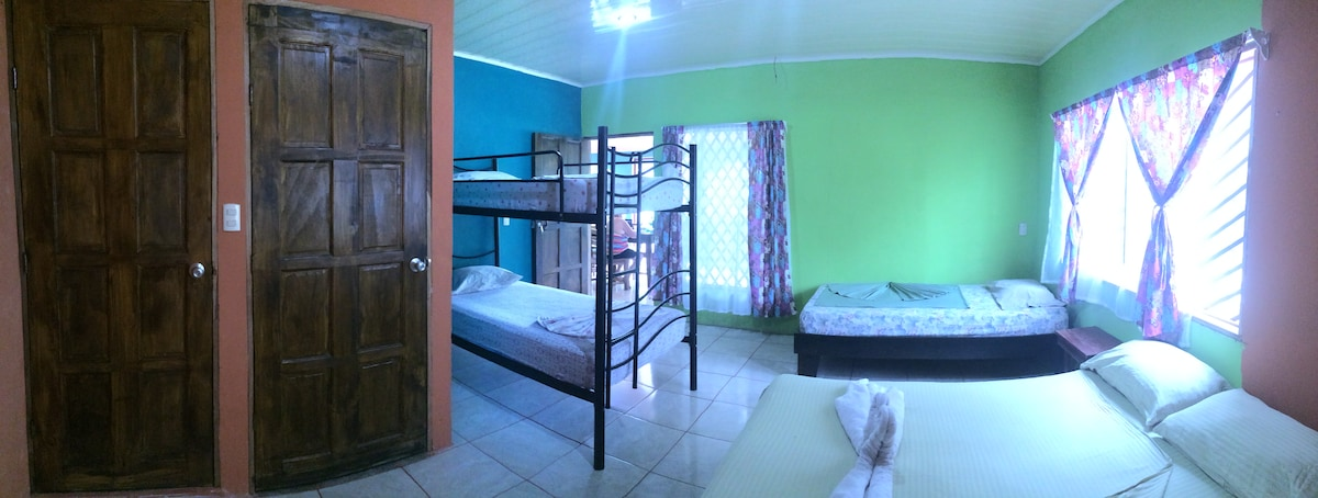 Tortuguero Costa Rica Family rooms