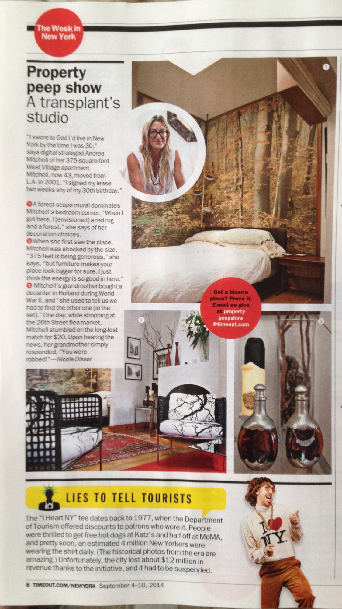 Time out NY best design space September issue 2014