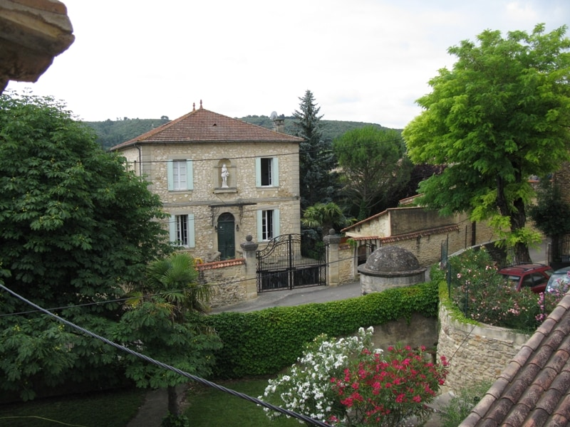 Provence with garden and pool.