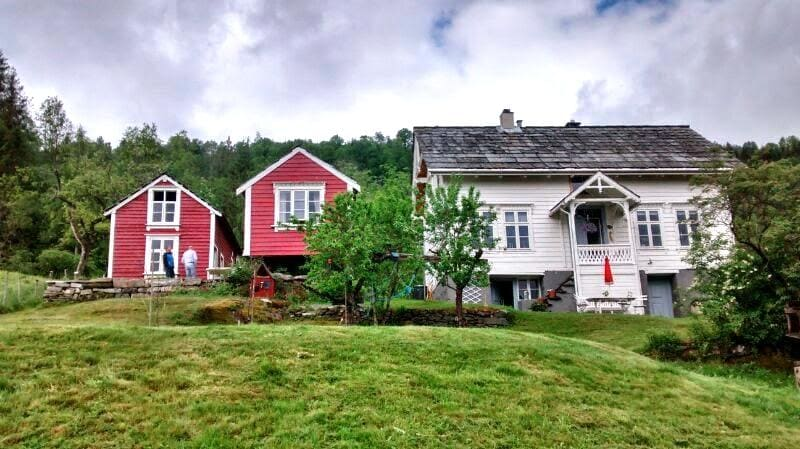 Charming family farm, double room D