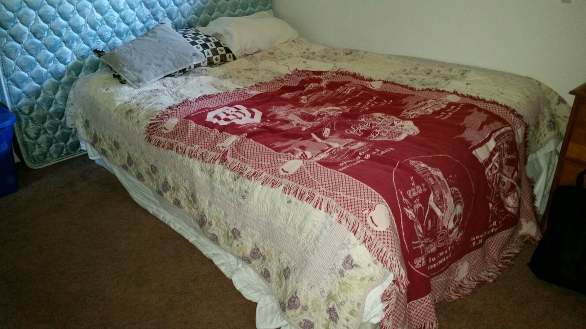 The WOLF Cave WITH QUEEN BED. SHHH
