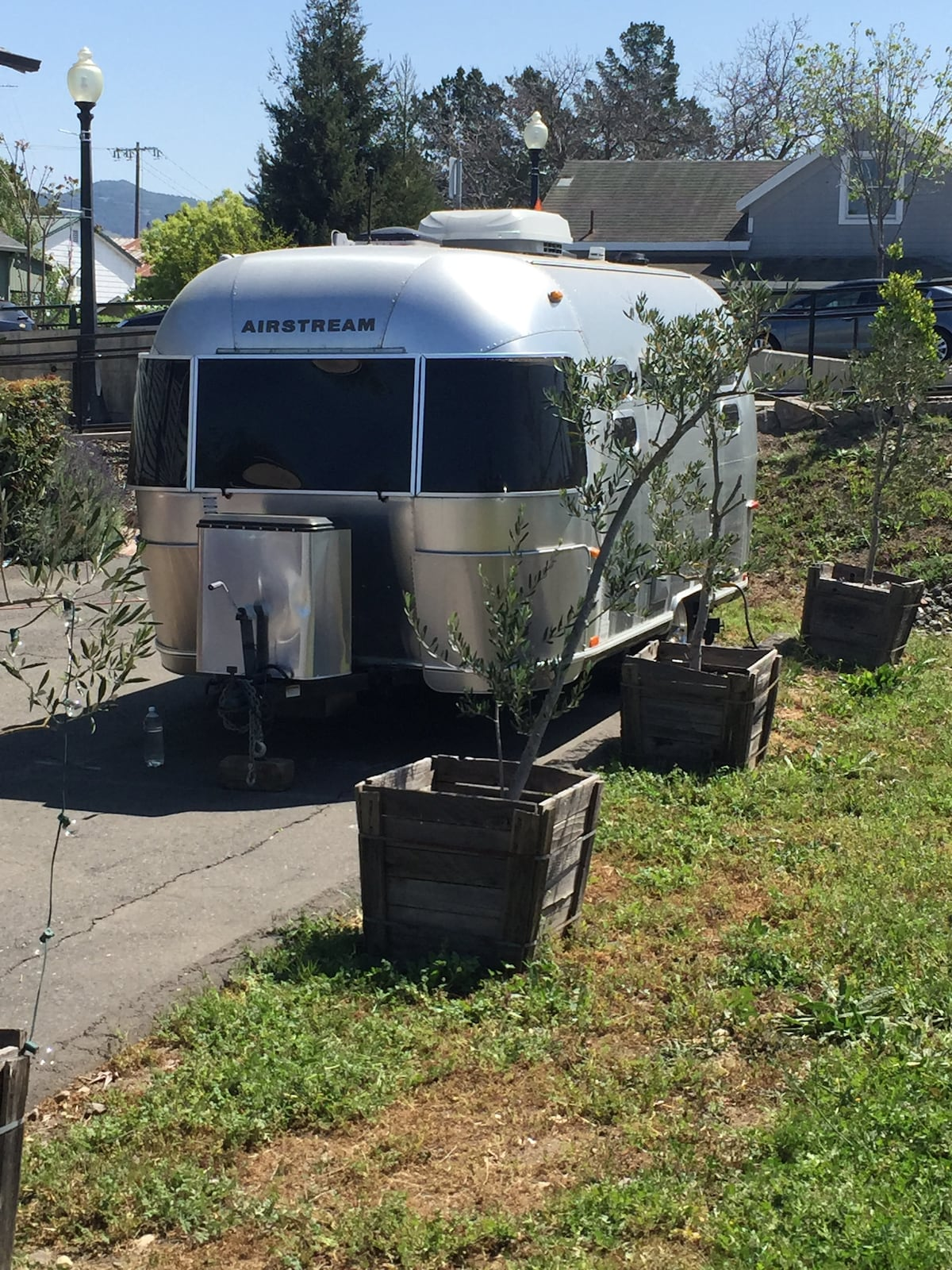 Airstream in Downtown Napa