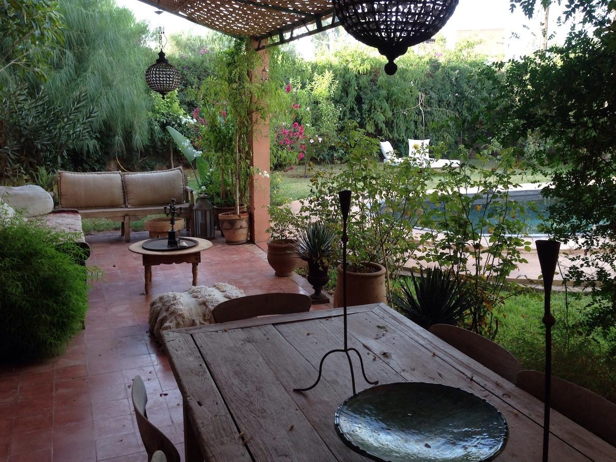 Grande villa marrakech piscine