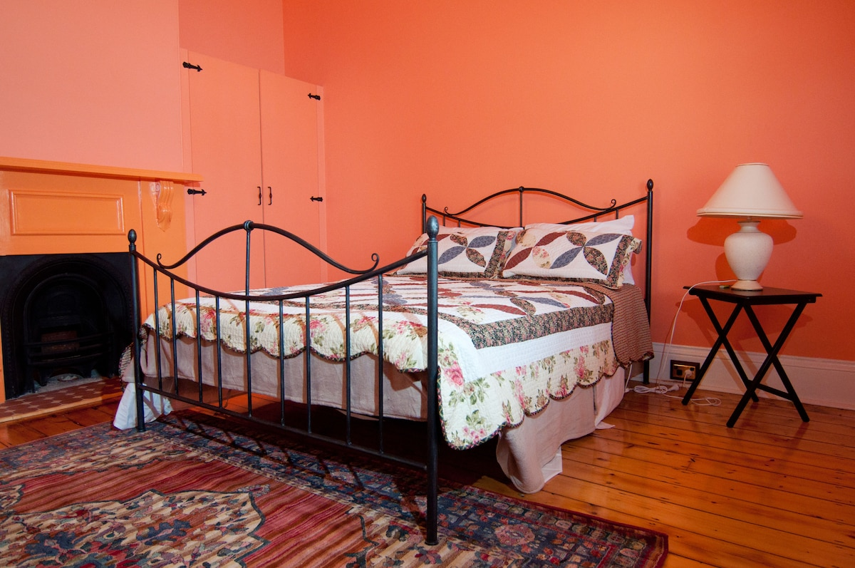 Colour and vibrant presentation of one bedroom