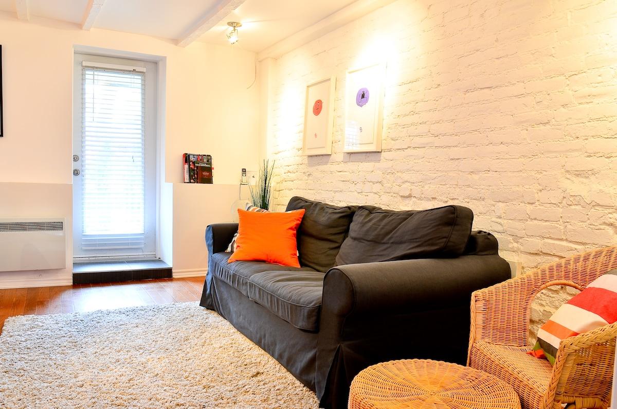 Lovely studio Quartier Latin