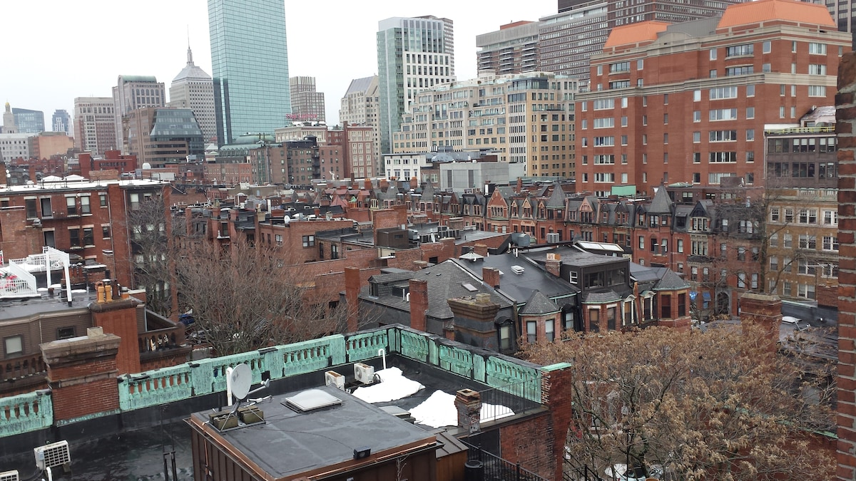 Charm, comfort in heart of Back Bay