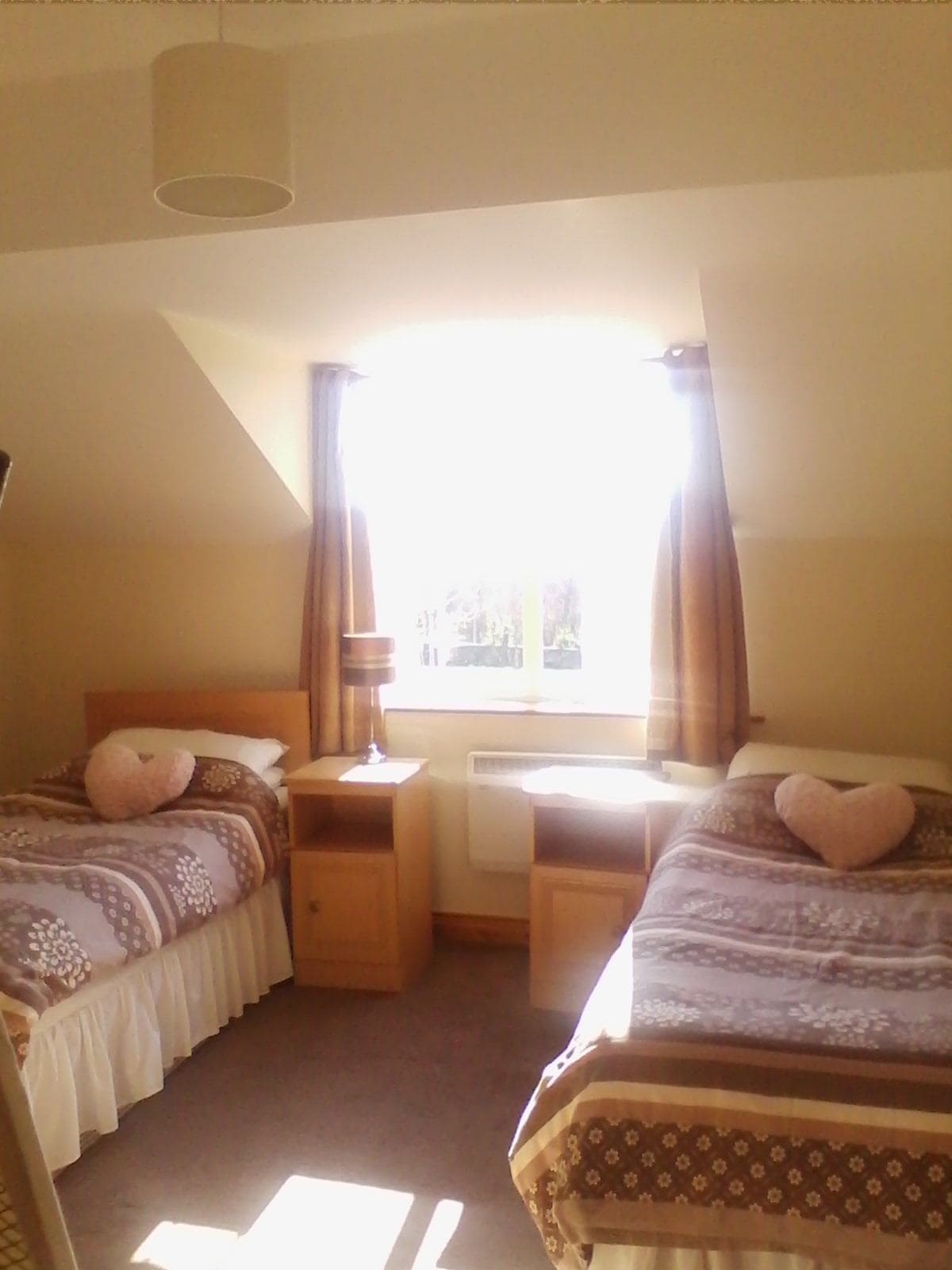 Twin room on Ring of Kerry
