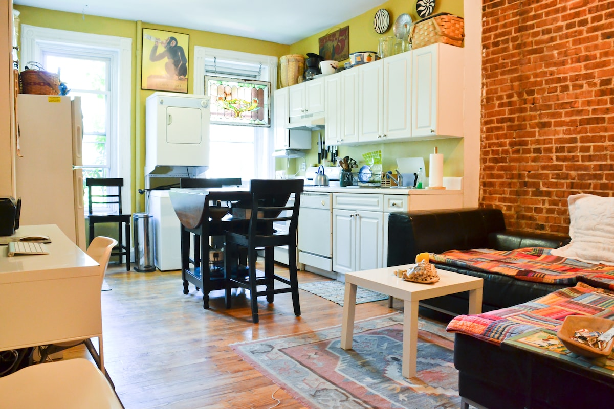 Cozy, charming apartment in the heart of Park Slope!
