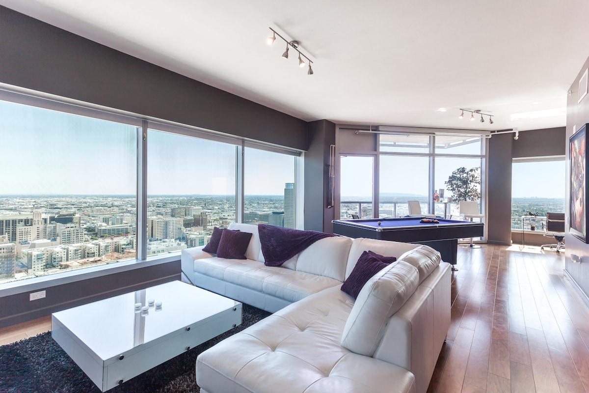 DOWNTOWN LA PENTHOUSE SUITE+TICKETS