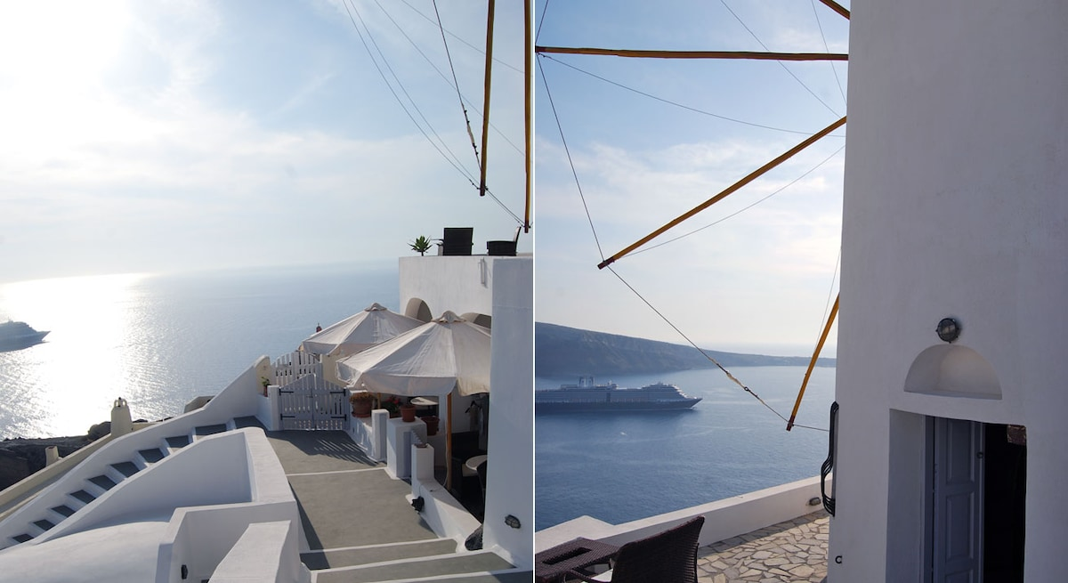 GS apartment in Oia for 4