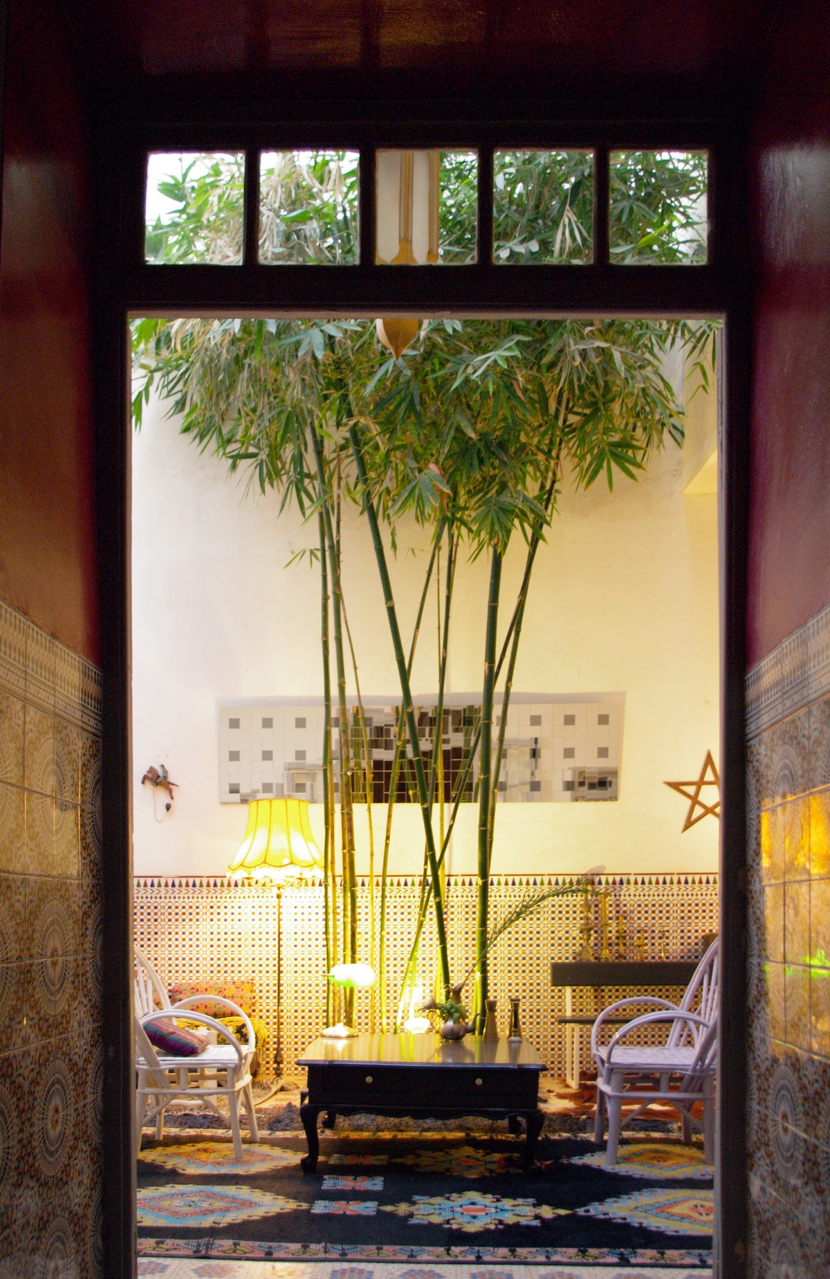 Riad house13 Double room w/bathtub
